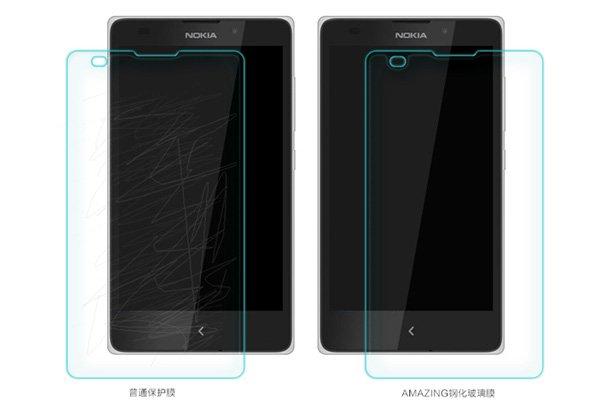 【ネコポス送料無料】NOKIA XL 強化ガラスフィルム ナノコーティング 硬度9H  [6]