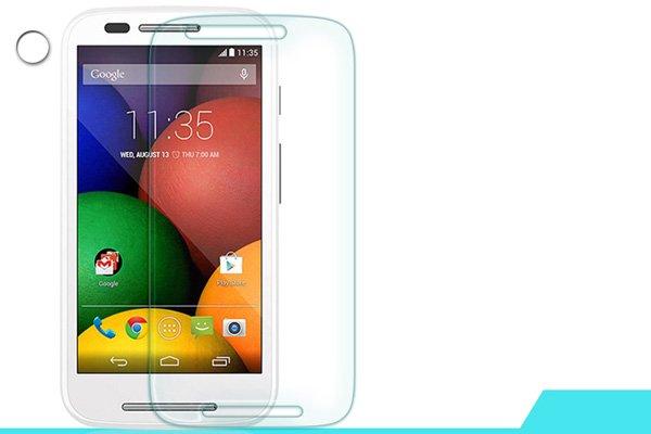 【ネコポス送料無料】Motorola Moto E (XT1022) 強化ガラスフィルム ナノコーティング 硬度9H  [1]