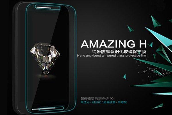 【ネコポス送料無料】Motorola Moto E (XT1022) 強化ガラスフィルム ナノコーティング 硬度9H  [2]