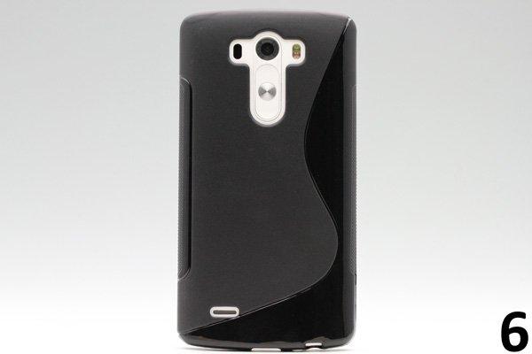 【ネコポス送料無料】LG G3 TPUケース 液晶保護フィルム付き 全8色  [12]