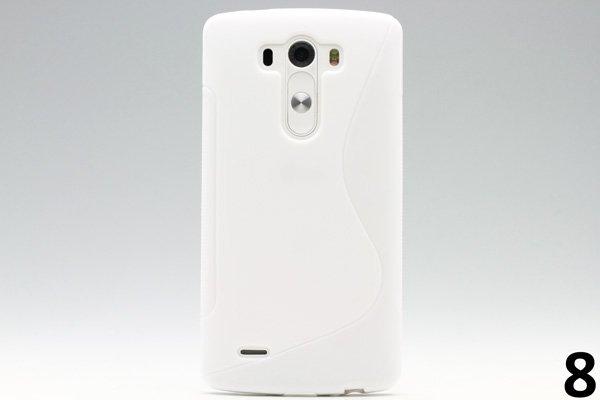 【ネコポス送料無料】LG G3 TPUケース 液晶保護フィルム付き 全8色  [16]