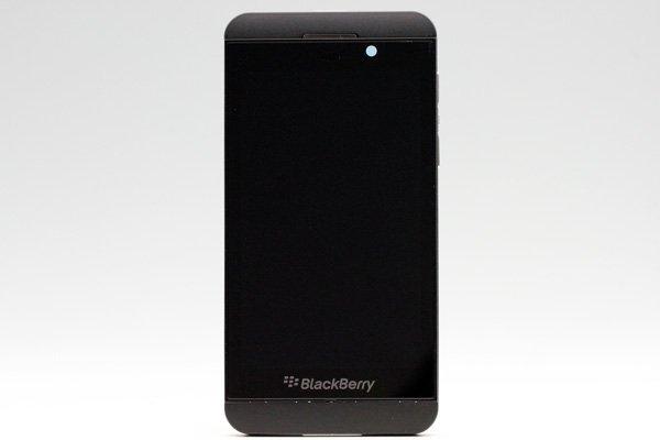 Blackberry Z10 3G版 フロントパネルASSY ブラック [1]