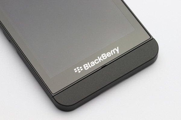 Blackberry Z10 3G版 フロントパネルASSY ブラック [5]