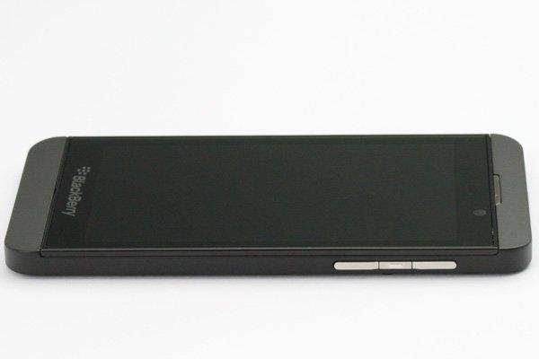 Blackberry Z10 3G版 フロントパネルASSY ブラック [7]