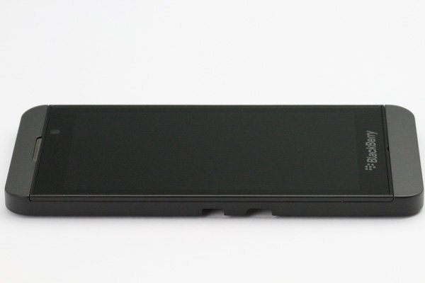 Blackberry Z10 3G版 フロントパネルASSY ブラック [8]