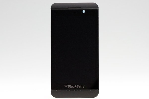Blackberry Z10 4G(LTE)版 フロントパネルASSY ブラック [1]