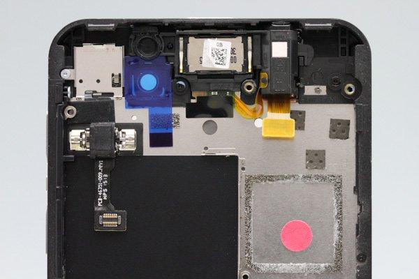 Blackberry Z10 4G(LTE)版 フロントパネルASSY ブラック [3]