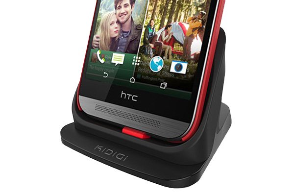 KIDIGI HTC One (M8) 専用クレードル with cover-mate AC付 [2]