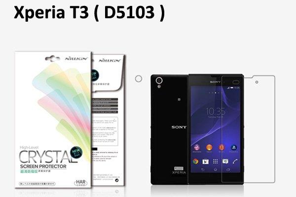 【ネコポス送料無料】Xperia T3 (D5103) 液晶保護フィルムセット クリスタルクリアタイプ  [1]