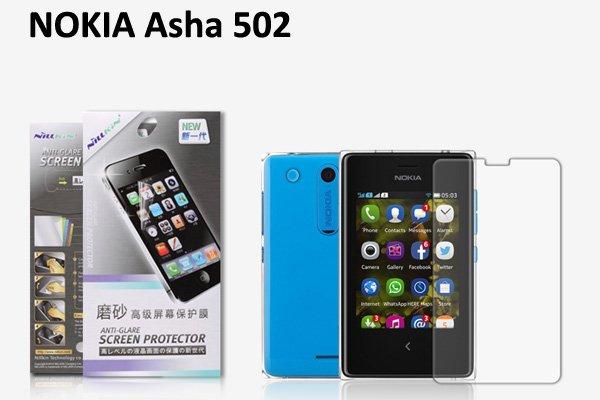 【ネコポス送料無料】Nokia Asha 502 液晶保護フィルムセット アンチグレアタイプ  [1]