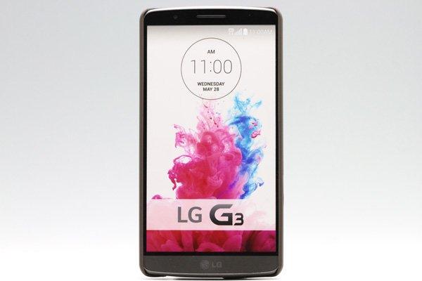 【ネコポス送料無料】LG G3 (D855) 専用ハードカバー 液晶保護フィルム付き 全5色 [6]