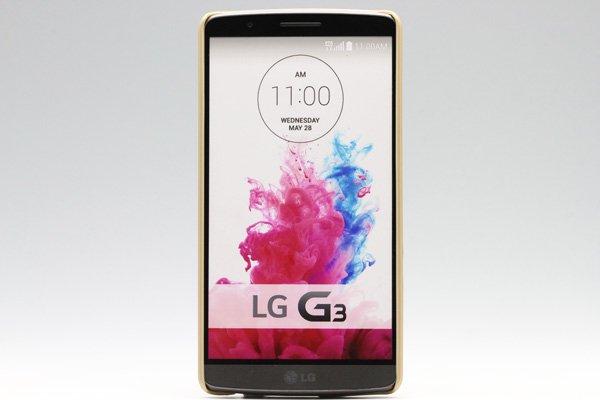 【ネコポス送料無料】LG G3 (D855) 専用ハードカバー 液晶保護フィルム付き 全5色 [8]