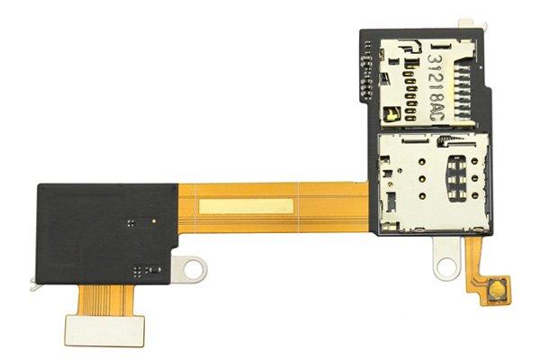 【ネコポス送料無料】Xperia M2 (D230X) SIM & SDカードスロットケーブル  [1]
