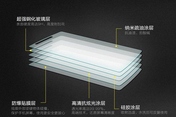 【ネコポス送料無料】OnePlus One (A0001)強化ガラスフィルム ナノコーティング 硬度9H  [4]