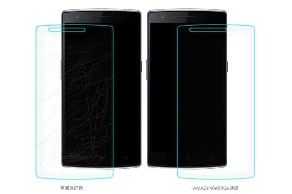 【ネコポス送料無料】OnePlus One (A0001)強化ガラスフィルム ナノコーティング 硬度9H  [6]