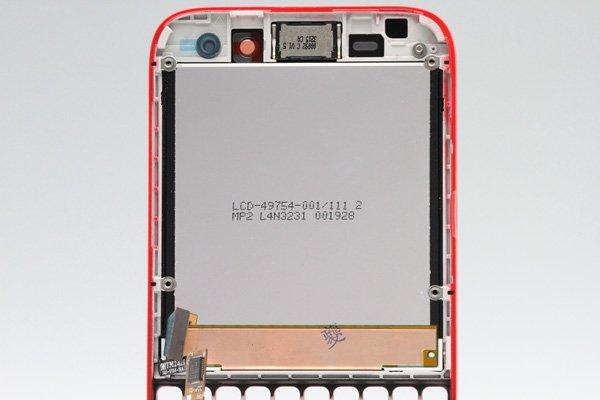 Blackberry Q5 AカバーASSY レッド [3]
