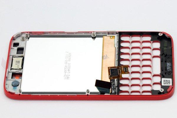 Blackberry Q5 AカバーASSY レッド [5]