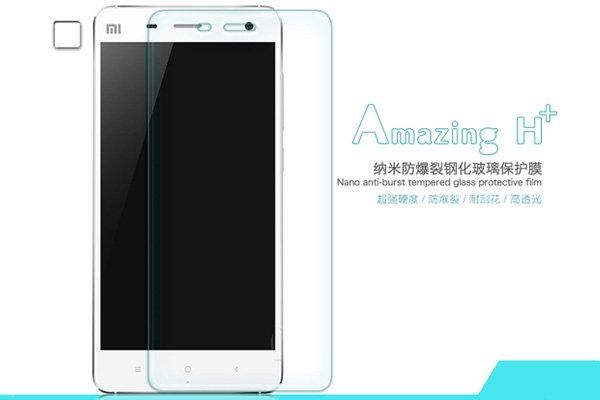 【ネコポス送料無料】Xiaomi (小米) Mi4 強化ガラスフィルム ナノコーティング 硬度9H  [1]