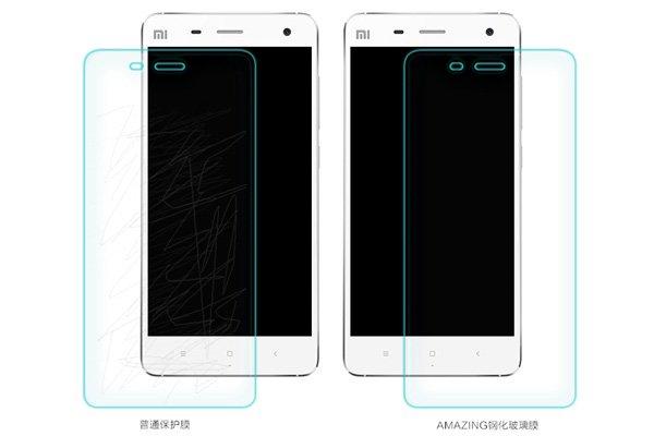 【ネコポス送料無料】Xiaomi (小米) Mi4 強化ガラスフィルム ナノコーティング 硬度9H  [6]