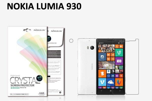 【ネコポス送料無料】NOKIA LUMIA930 液晶保護フィルムセット クリスタルクリアタイプ  [1]