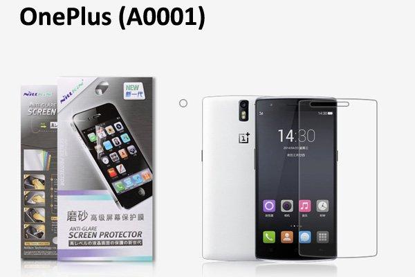 【ネコポス送料無料】OnePlus One (A0001) 液晶保護フィルムセット アンチグレアタイプ  [1]