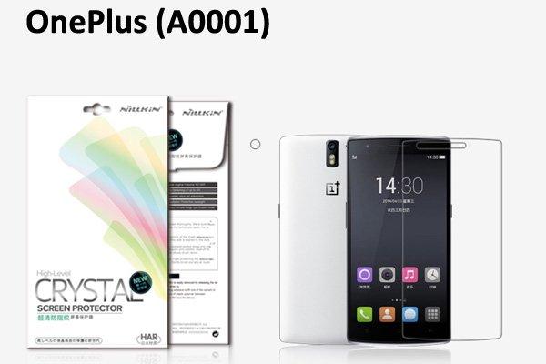 【ネコポス送料無料】OnePlus One (A0001) 液晶保護フィルムセット クリスタルクリアタイプ  [1]