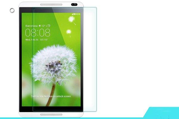 【ネコポス送料無料】Huawei MediaPad M1 8.0 強化ガラスフィルム ナノコーティング 硬度9H  [1]