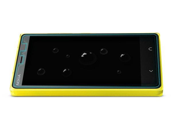 【ネコポス送料無料】NOKIA X2 強化ガラスフィルム ナノコーティング 硬度9H  [7]