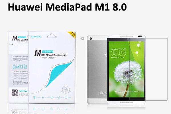【ネコポス送料無料】Huawei MediaPad M1 8.0 液晶保護フィルムセット アンチグレアタイプ  [1]