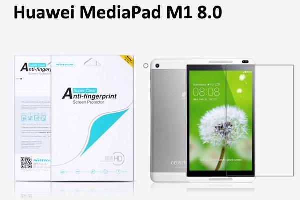 【ネコポス送料無料】Huawei MediaPad M1 8.0 液晶保護フィルムセット クリスタルクリアタイプ  [1]
