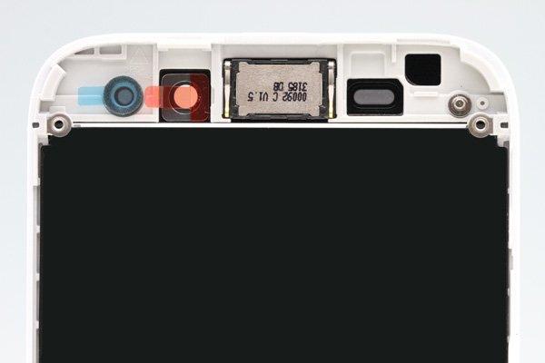 Blackberry Q5 AカバーASSY ホワイト [3]
