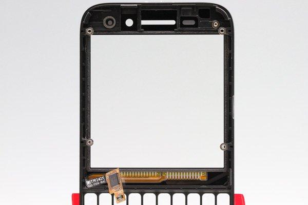 【ネコポス送料無料】Blackberry Q5 Aカバー単品 全2色 [3]