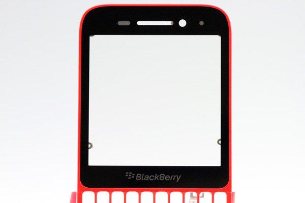 【ネコポス送料無料】Blackberry Q5 Aカバー単品 全2色 [6]