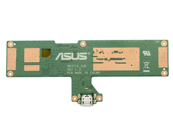 【ネコポス送料無料】Google Nexus7 (2013モデル) Wi-Fiモデル マイクロUSBコネクターボードASSY  [2]