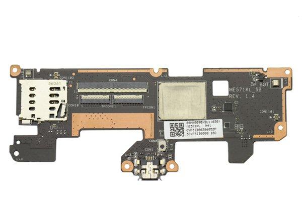 Google Nexus7 (2013モデル) LTEモデル マイクロUSBコネクターボードASSY  [1]