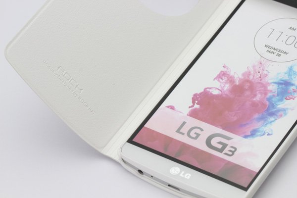 Rock Uni Series LG G3 高品質PUケース オートスリープタイプ 全4色 [15]