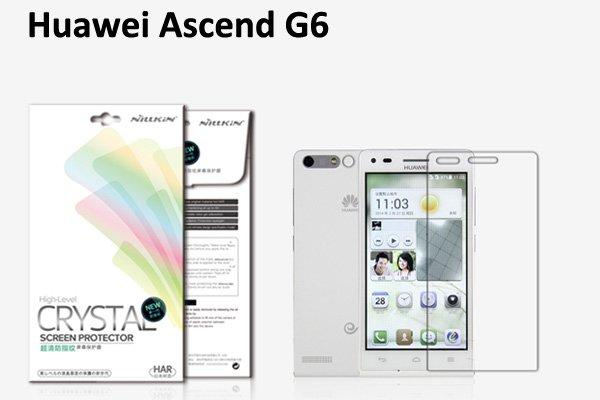 【ネコポス送料無料】Huawei Ascend G6 液晶保護フィルムセット クリスタルクリアタイプ  [1]