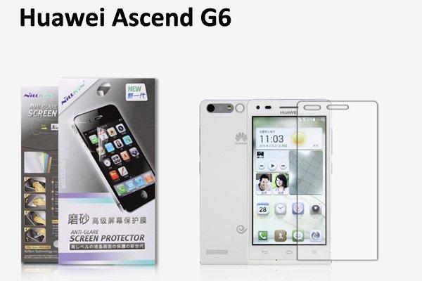 【ネコポス送料無料】Huawei Ascend G6 液晶保護フィルムセット アンチグレアタイプ  [1]