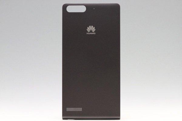 【ネコポス送料無料】Huawei Ascend G6 バッテリーカバー ブラック  [1]