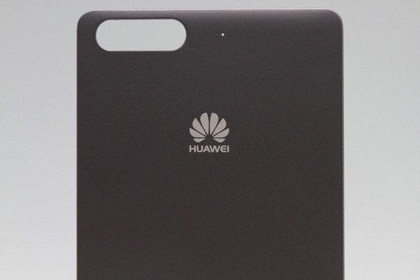 【ネコポス送料無料】Huawei Ascend G6 バッテリーカバー ブラック  [3]