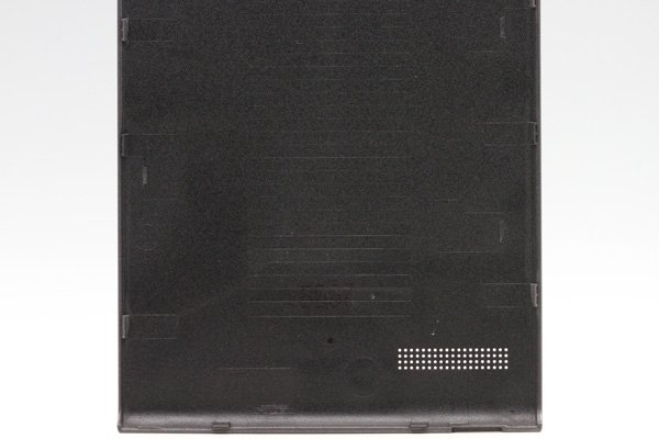 【ネコポス送料無料】Huawei Ascend G6 バッテリーカバー ブラック  [5]