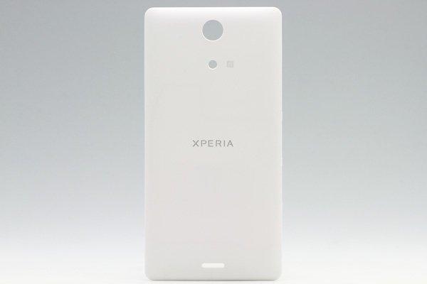 【ネコポス送料無料】Xperia ZR (M36h) リアカバー 全4色  [5]