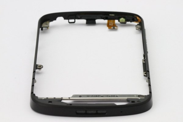 【ネコポス送料無料】Blackberry Q10 フレームASSY ブラック  [4]