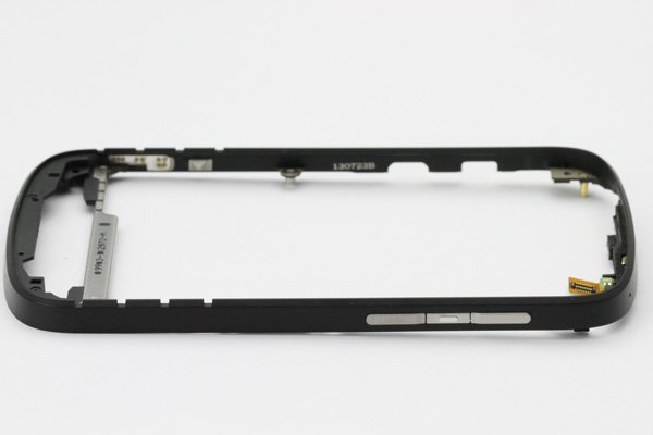 【ネコポス送料無料】Blackberry Q10 フレームASSY ブラック  [7]