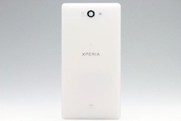 【ネコポス送料無料】Xperia ZL2 (SOL25) バックカバー 全3色  [3]
