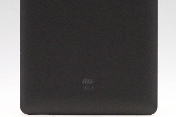 【ネコポス送料無料】Xperia ZL2 (SOL25) バックカバー 全3色  [8]