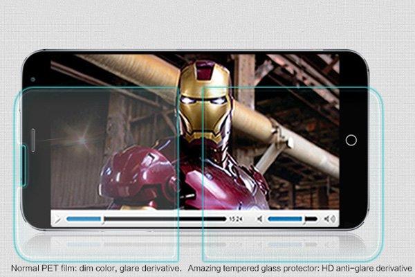 【ネコポス送料無料】MEIZU(魅族)MX4 強化ガラスフィルム ナノコーティング 硬度9H  [3]