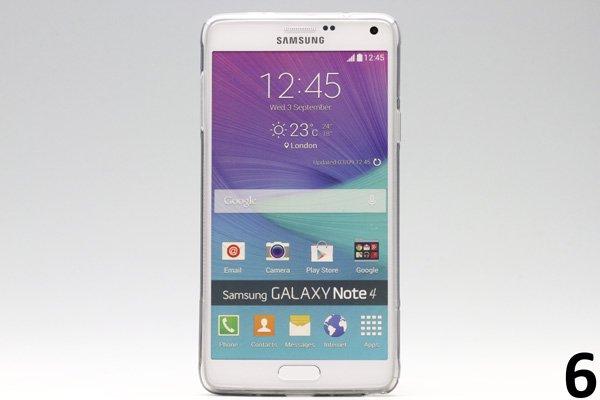 【ネコポス送料無料】Galaxy Note4 (SM-N910)TPUケース 液晶保護フィルム付き 全8色  [12]