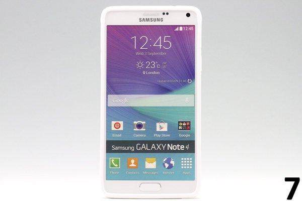 【ネコポス送料無料】Galaxy Note4 (SM-N910)TPUケース 液晶保護フィルム付き 全8色  [14]