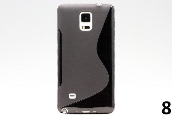 【ネコポス送料無料】Galaxy Note4 (SM-N910)TPUケース 液晶保護フィルム付き 全8色  [15]
